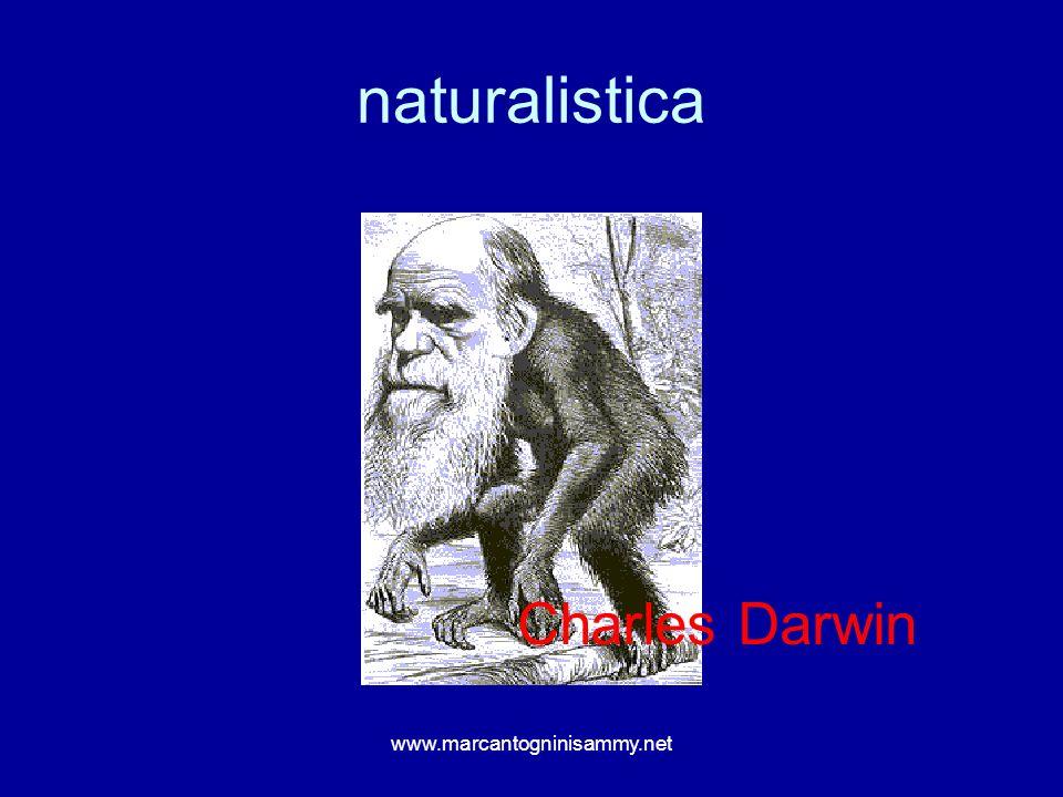 naturalistica www.marcantogninisammy.net Charles Darwin