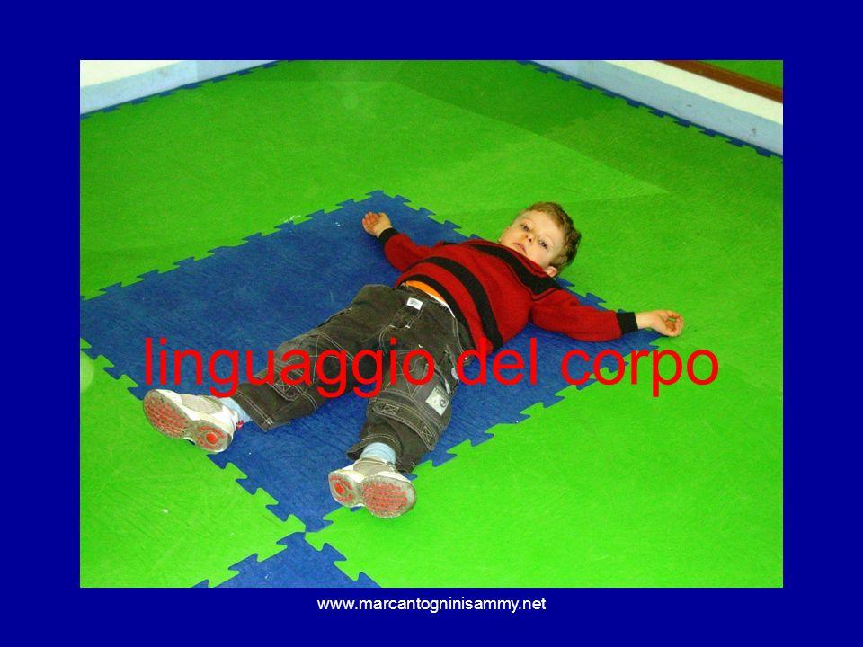 www.marcantogninisammy.net linguaggio del corpo
