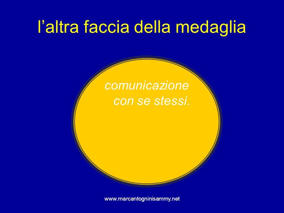 www.marcantogninisammy.net laltra faccia della medaglia comunicazione con se stessi.