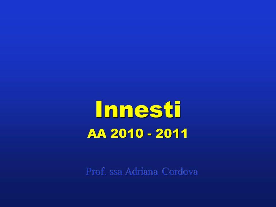Innesti AA 2010 - 2011