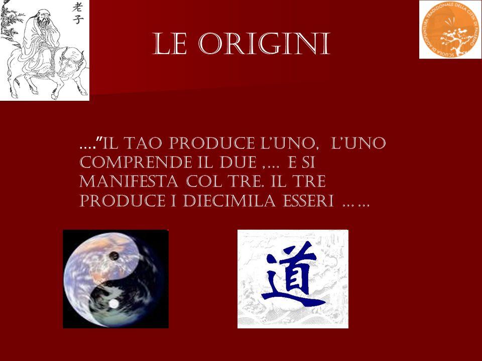 Le Origini …. Il Tao produce lUno, lUno comprende il Due,… e si manifesta col Tre. Il Tre produce i diecimila esseri ……