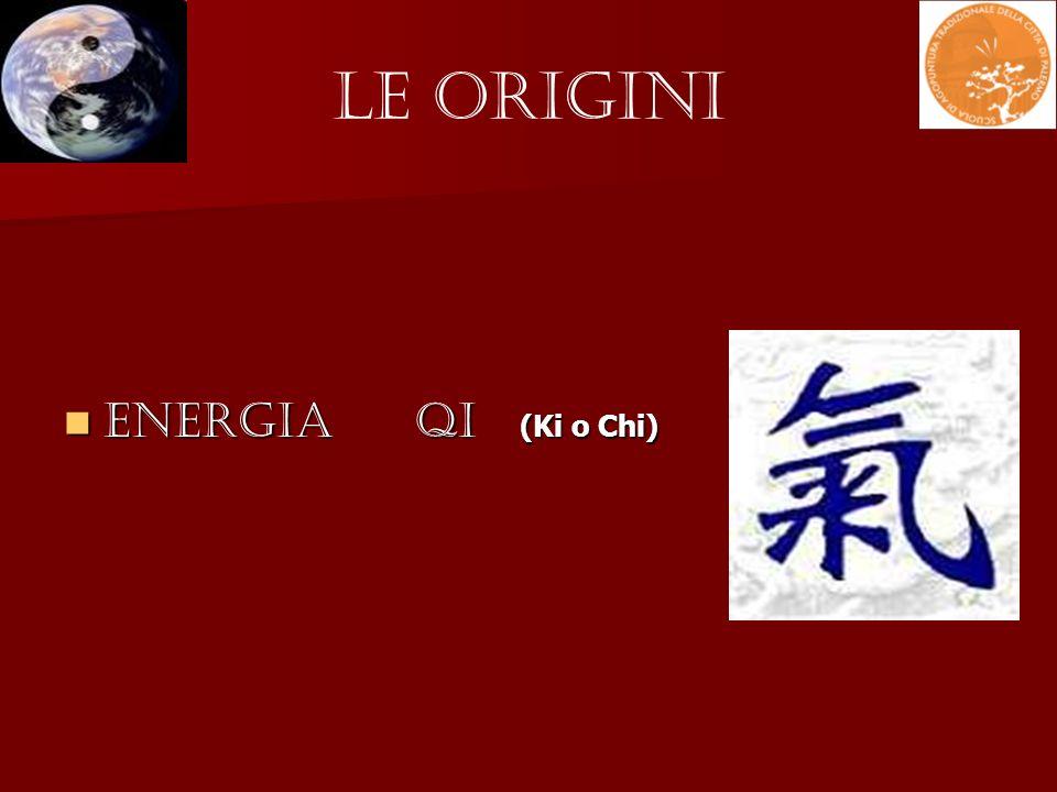 Le Origini Energia QI (Ki o Chi) Energia QI (Ki o Chi)