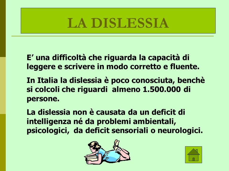 Il dislessico spesso compie errori caratteristici nella lettura e nella scrittura,invertendo lettere e numeri ( es.