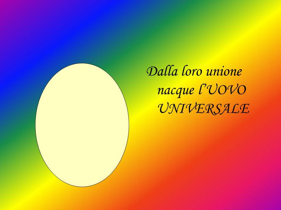 Dalla loro unione nacque lUOVO UNIVERSALE