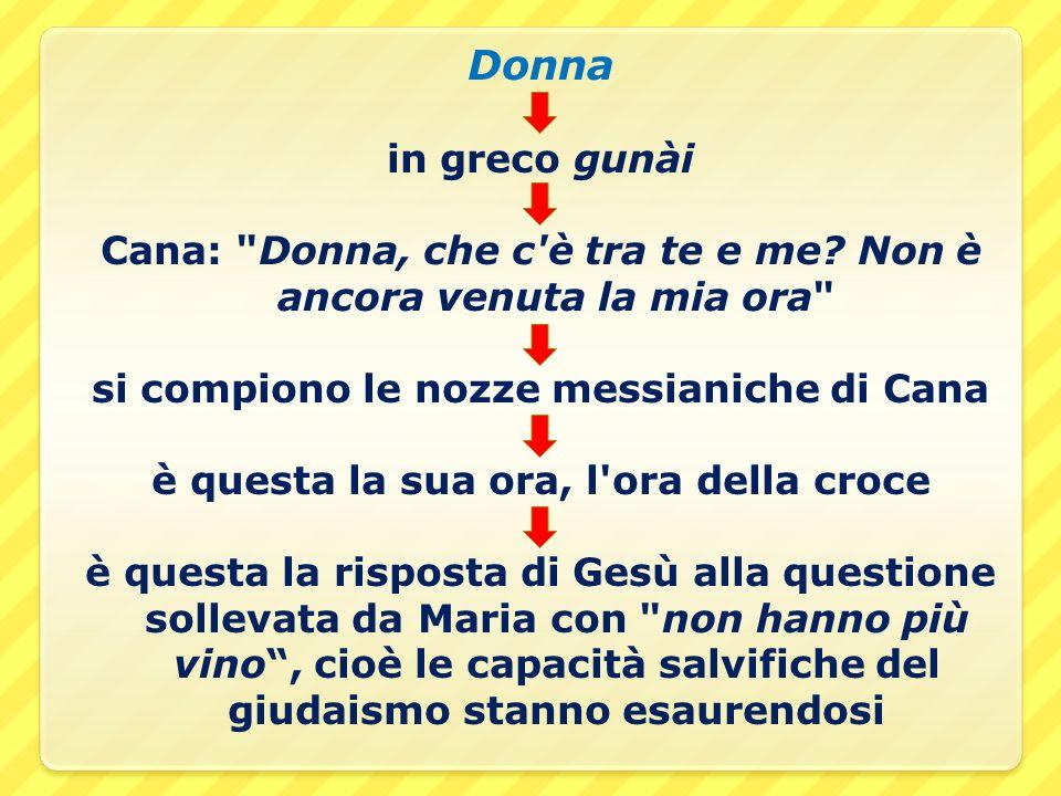 Donna in greco gunài Cana:
