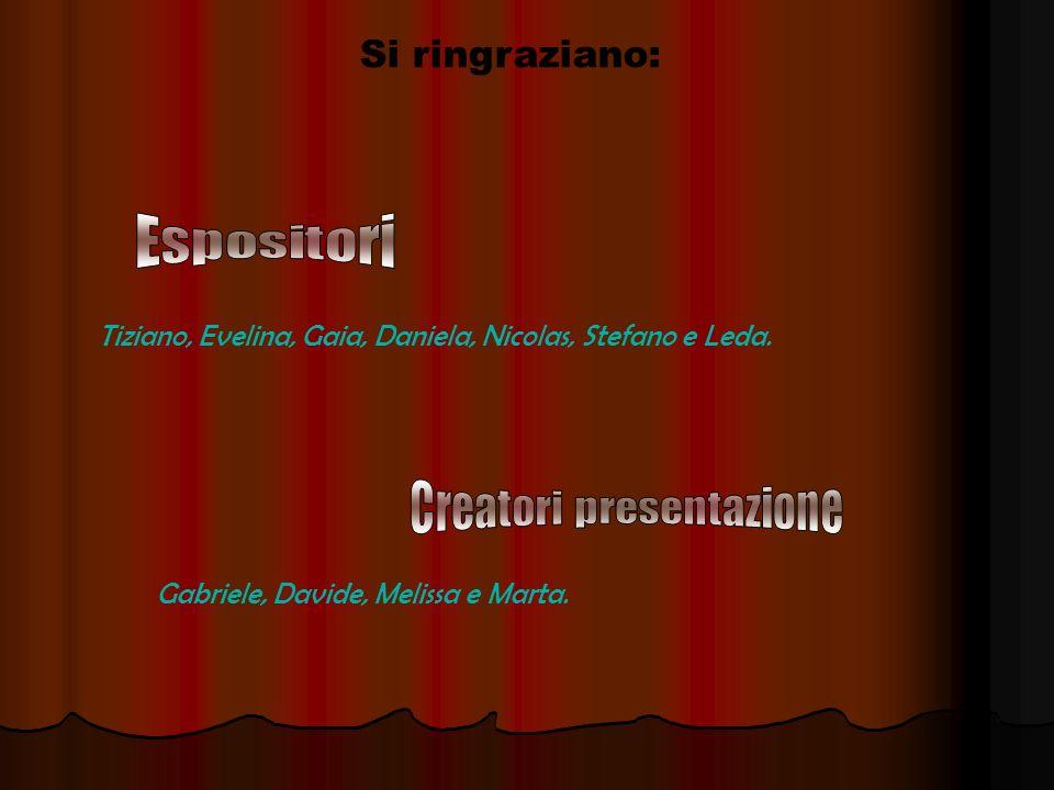 Il lavoro è stato svolto dagli alunni Delle prime e delle seconde classi DellITIS Cannizzaro in collaborazione con le dottoresse Miriam Porchia, Itala Colaceci e Teresa Paolella.