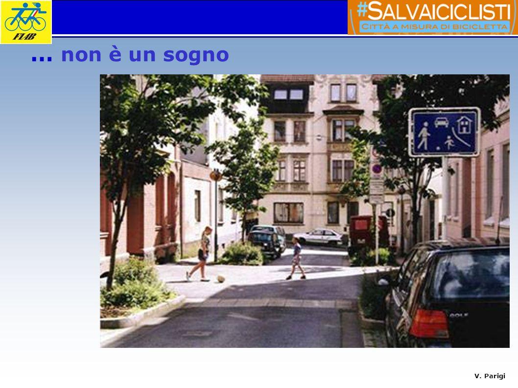 V. Parigi moderazione traffico, zone 30 (Traffic calming, Verkehrsberuhigung …) condivisione degli spazi fra pedoni, ciclisti, bambini, mezzi motorizz