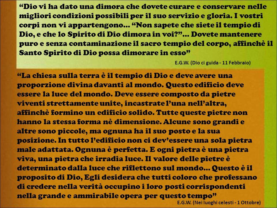 Quale sarà il luogo dincontro (Santuario/Tempio) tra Dio e noi nella Nuova Terra.
