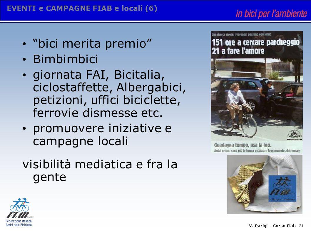 V. Parigi – Corso Fiab 20 STRUMENTI E COMUNICAZIONE (5.2) gestione da soci attivi es.