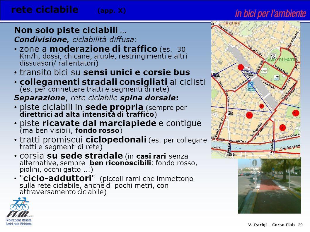 V. Parigi – Corso Fiab 28 Appendici: esempi di soluzioni