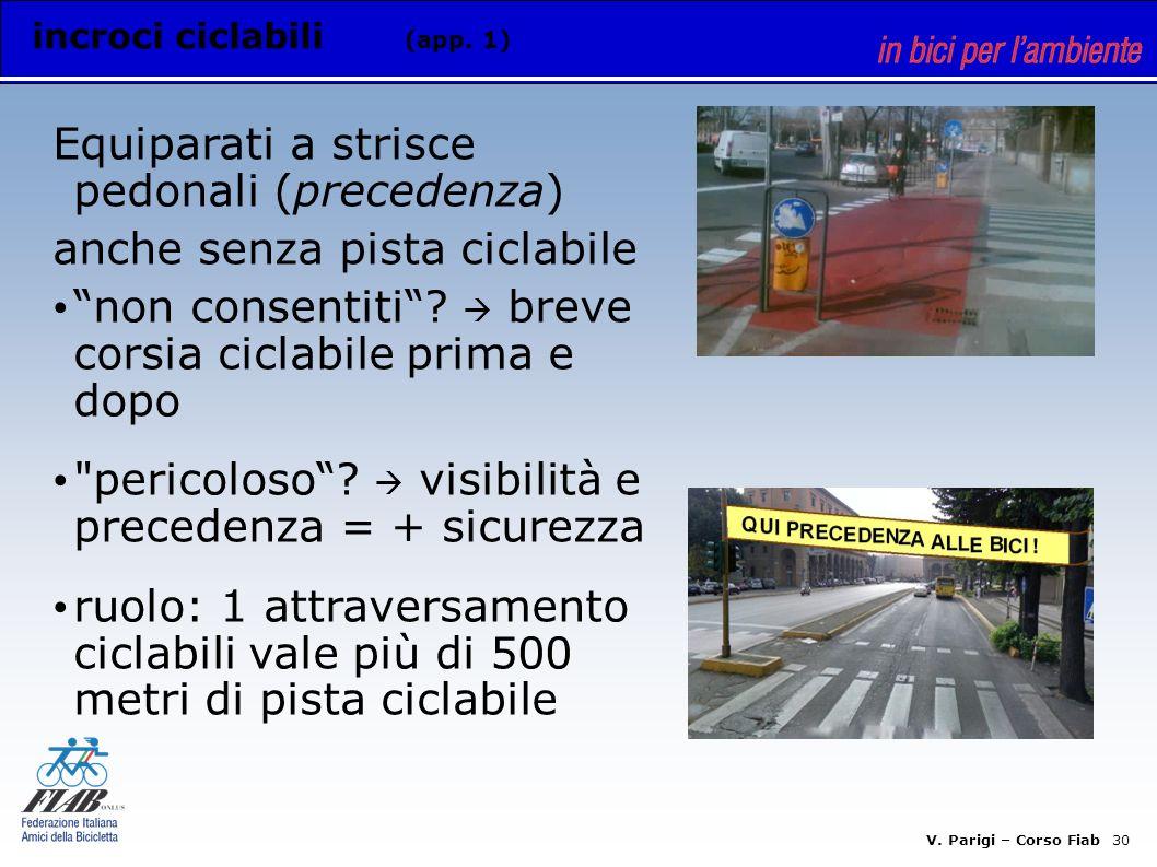 V. Parigi – Corso Fiab 29 rete ciclabile (app.