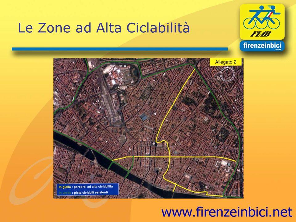 Le Zone ad Alta Ciclabilità