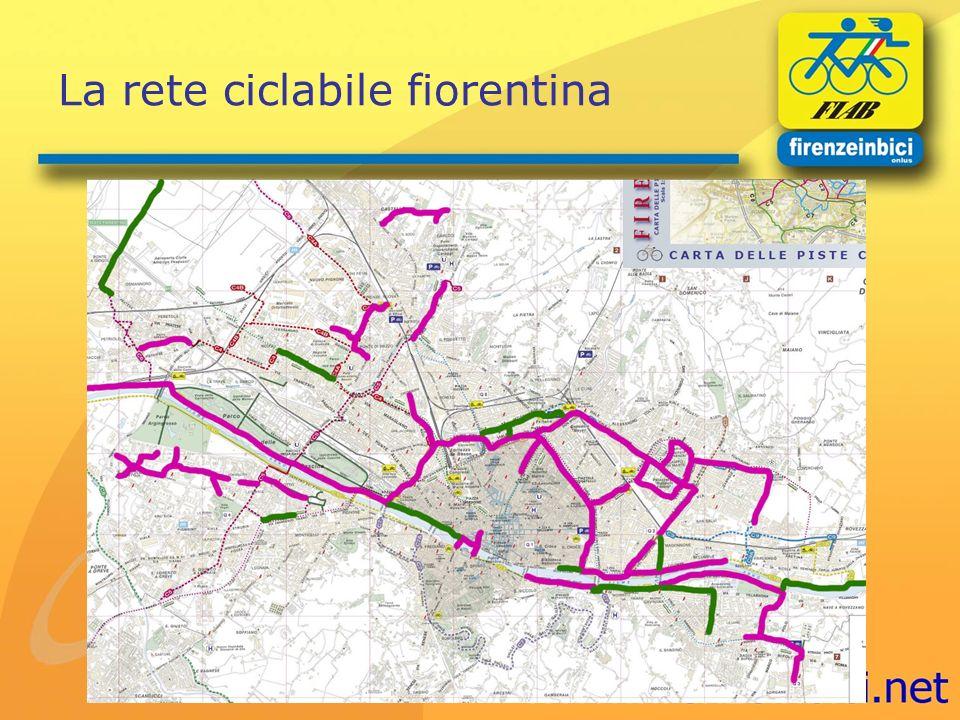 La rete ciclabile fiorentina