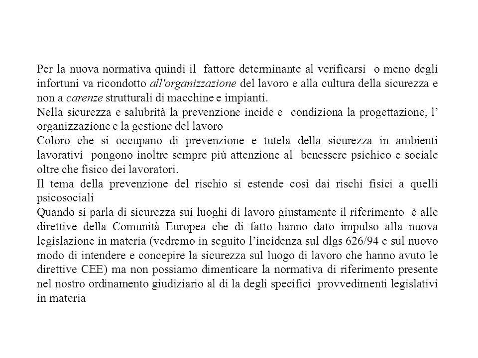 in particolare lallegato VII del dlgs 626/94 e la direttiva 90/270/CEE dettano prescrizioni minime per luso del videoterminale che non deve costituire fonte di rischio per i lavoratori.