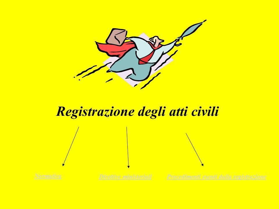 Registrazione degli atti giudiziari nel processo penale art.