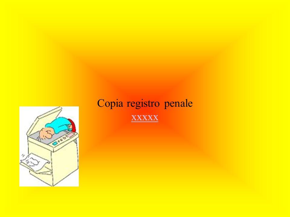 Copia elenchi decreti ingiuntivi xxxx