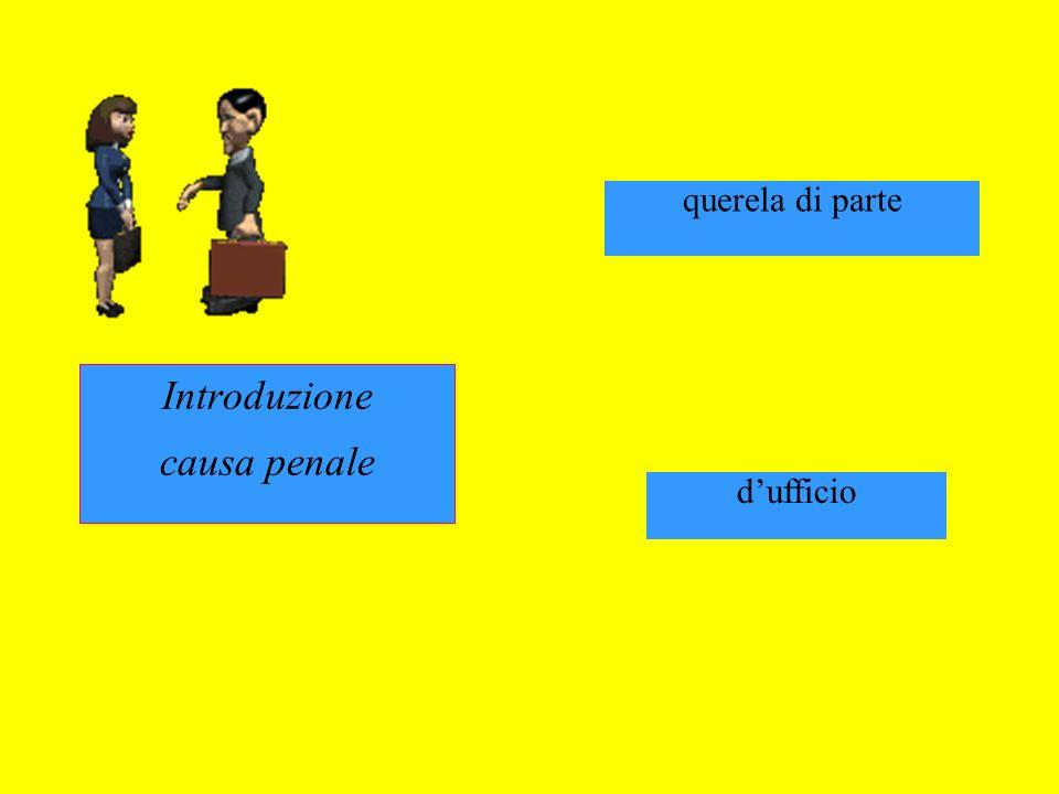 Introduzione causa penale innanzi al giudice di pace zzzzzzzz