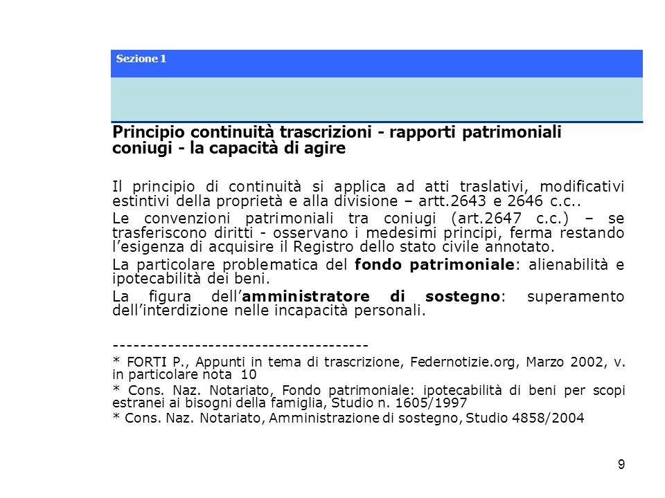 40 Sezione 8 Vincoli ambientali, culturali e urbanistici L articolo 32 della Legge 28 febbraio 1985, n.