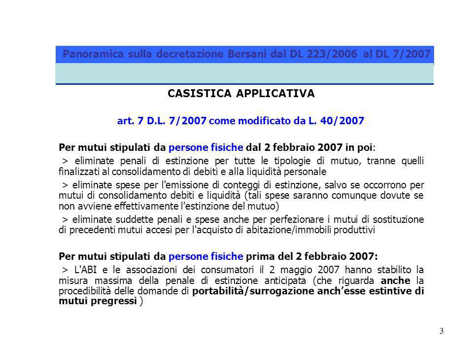 4 CASISTICA APPLICATIVA art.13, commi 8-sexies e ss.
