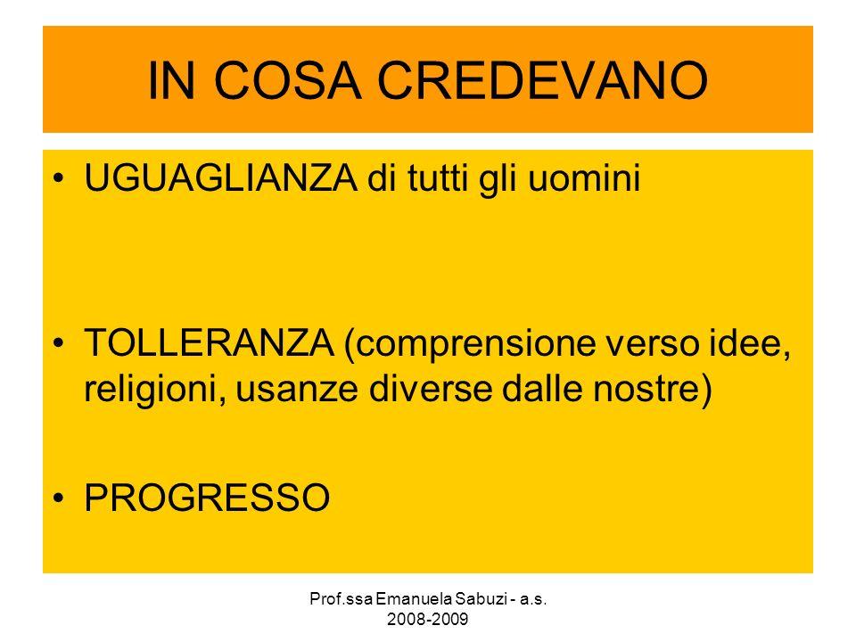 LA SEPARAZIONE DEI POTERI IN ITALIA IL PARLAMENTO, che fa le leggi IL GOVERNO, che le applica LA MAGISTRATURA, che giudica chi non le rispetta POTERE LEGISLATIVO POTERE ESECUTIVO POTERE GIUDIZIARIO Prof.ssa Emanuela Sabuzi - a.s.