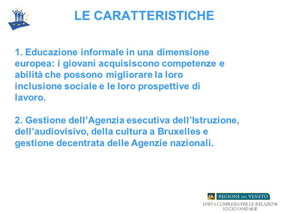 LE CARATTERISTICHE 1.