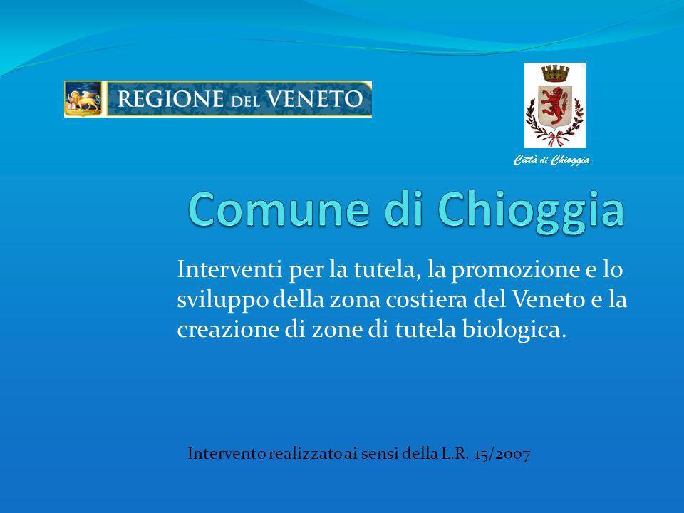 Area interessata allintervento Chioggia, 22 maggio – La tutela delle acque fluviali, lagunari e marine