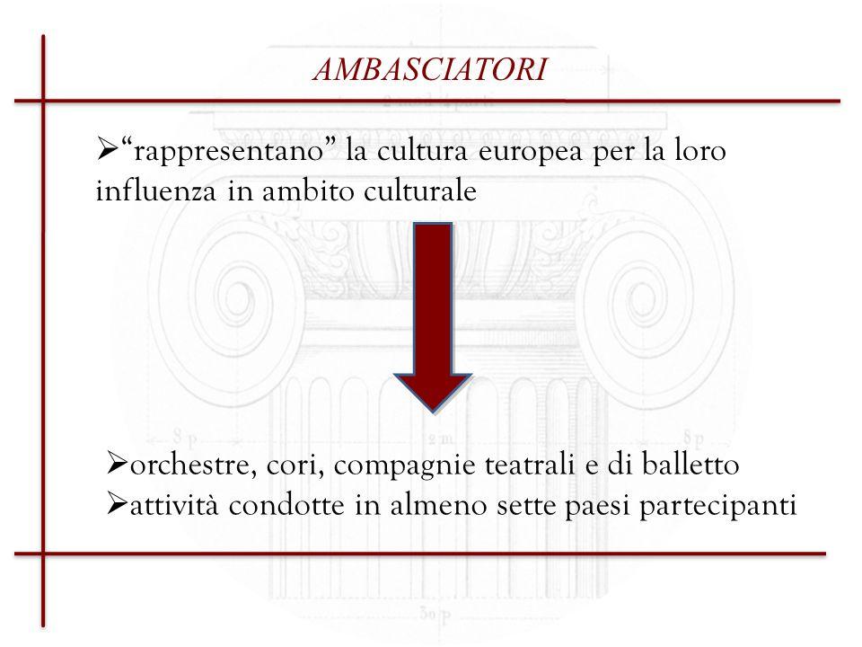 NETWORK: RETI DI RAPPRESENTANZA E DI DIFESA Devono esistere da almeno un anno Devono essere costituite da una rappresentanza significativa a livello europeo di una o più categorie specifiche di operatori o settori culturali (es.