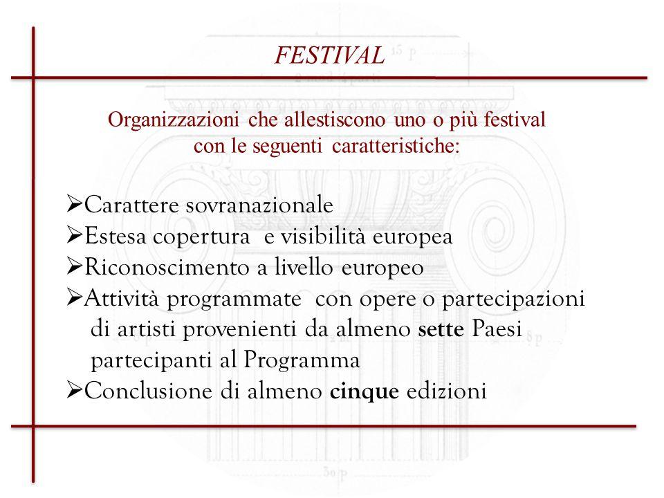 Sovvenzione di funzionamento annuale Presentazione della domanda ogni anno fino al 2013 Settore 2 Sostegno finanziario