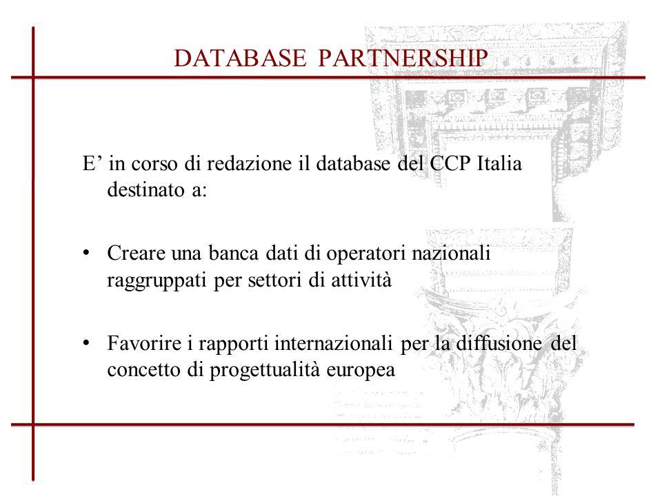 1) Pubblicazione delle best practices nazionali: dalla redazione iniziale alla fase conclusiva 2) Redazione di una brochure informativa sugli aspetti e le modalità di accesso al Programma Cultura 2007-2013 PUBBLICAZIONI