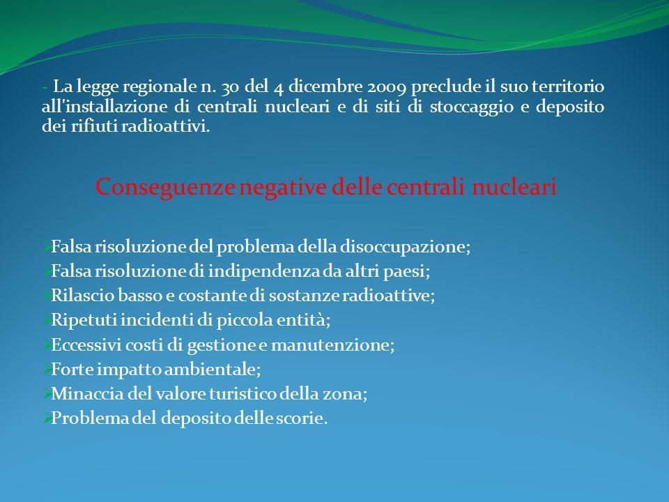 - La legge regionale n.