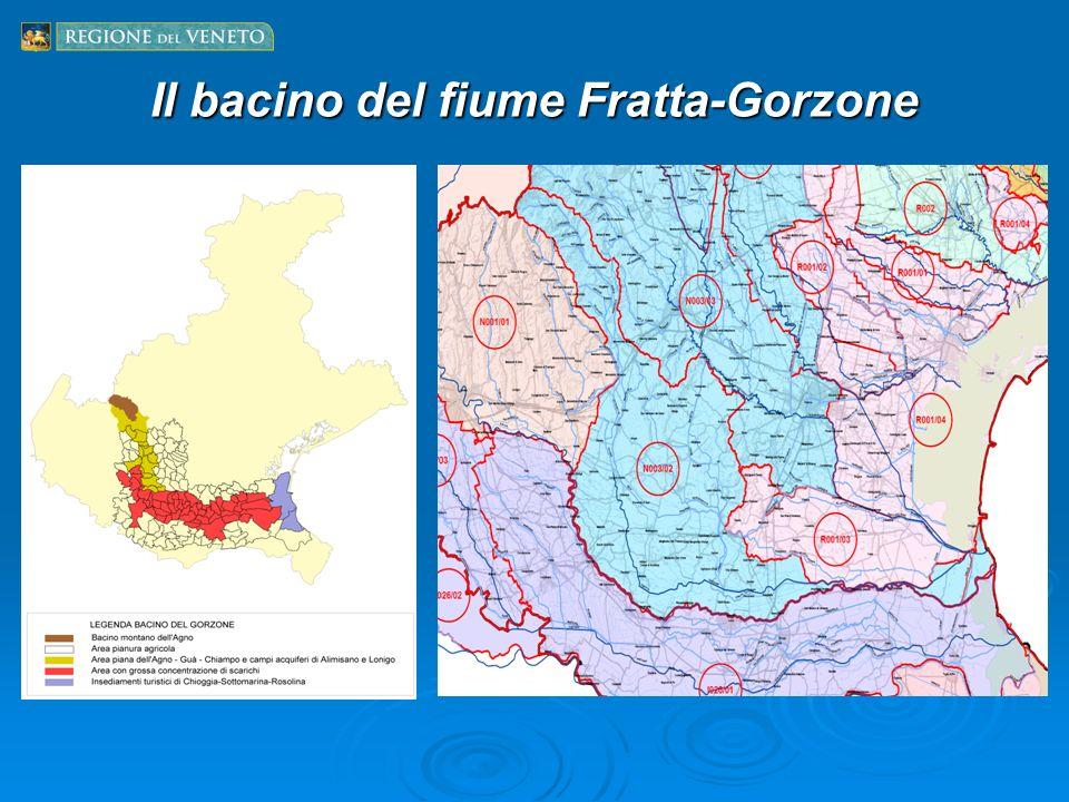 Il bacino del fiume Fratta-Gorzone