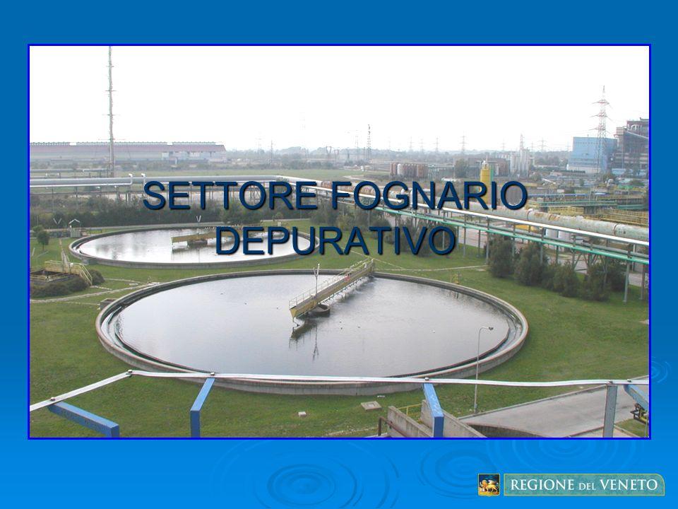 SETTORE FOGNARIO DEPURATIVO