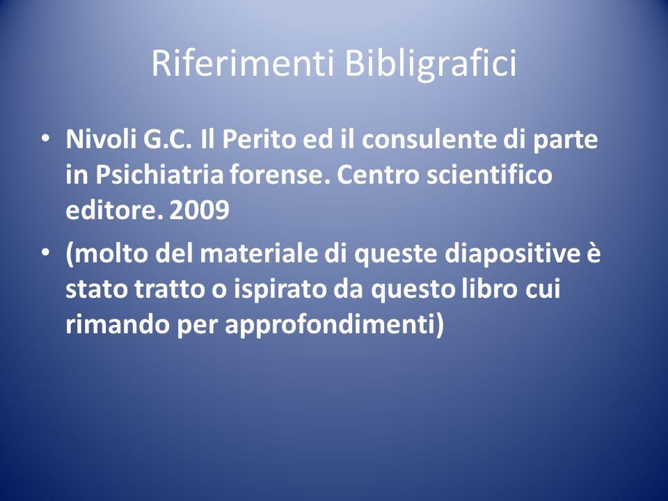 8.Amministratore Lo Psichiatra/Psicologo forense.