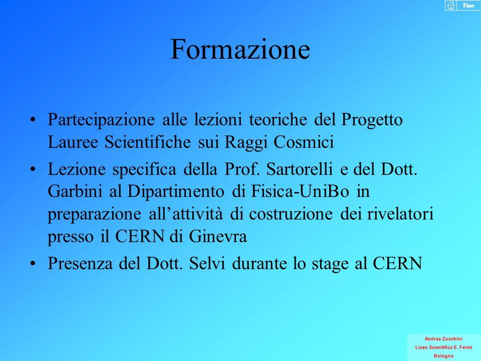 Fine Andrea Zucchini Liceo Scientifico E.Fermi Bologna Fine Andrea Zucchini Liceo Scientifico E.