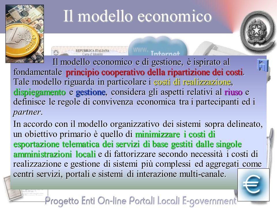 Il modello economico Il modello economico e di gestione, è ispirato al fondamentale principio cooperativo della ripartizione dei costi.