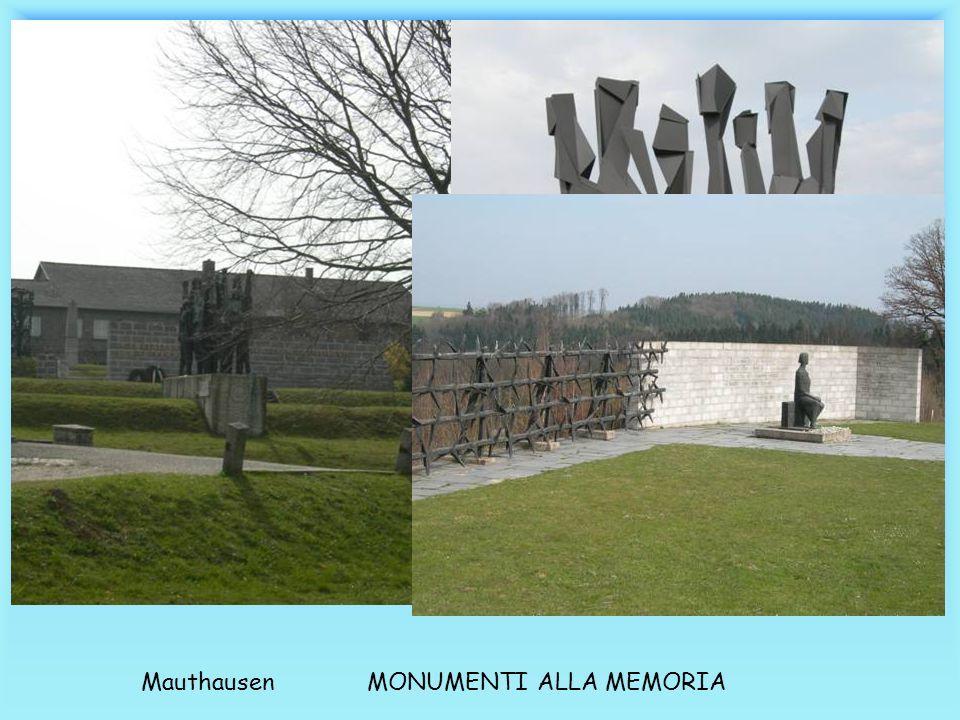 Mauthausen MONUMENTI ALLA MEMORIA