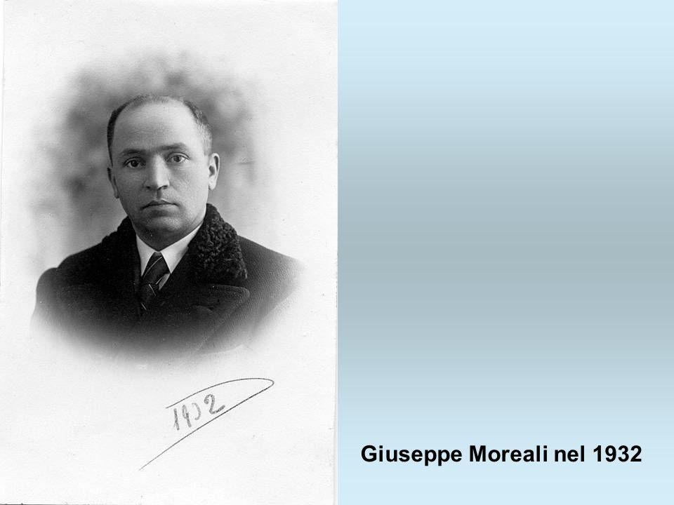 Giuseppe Moreali nel 1932
