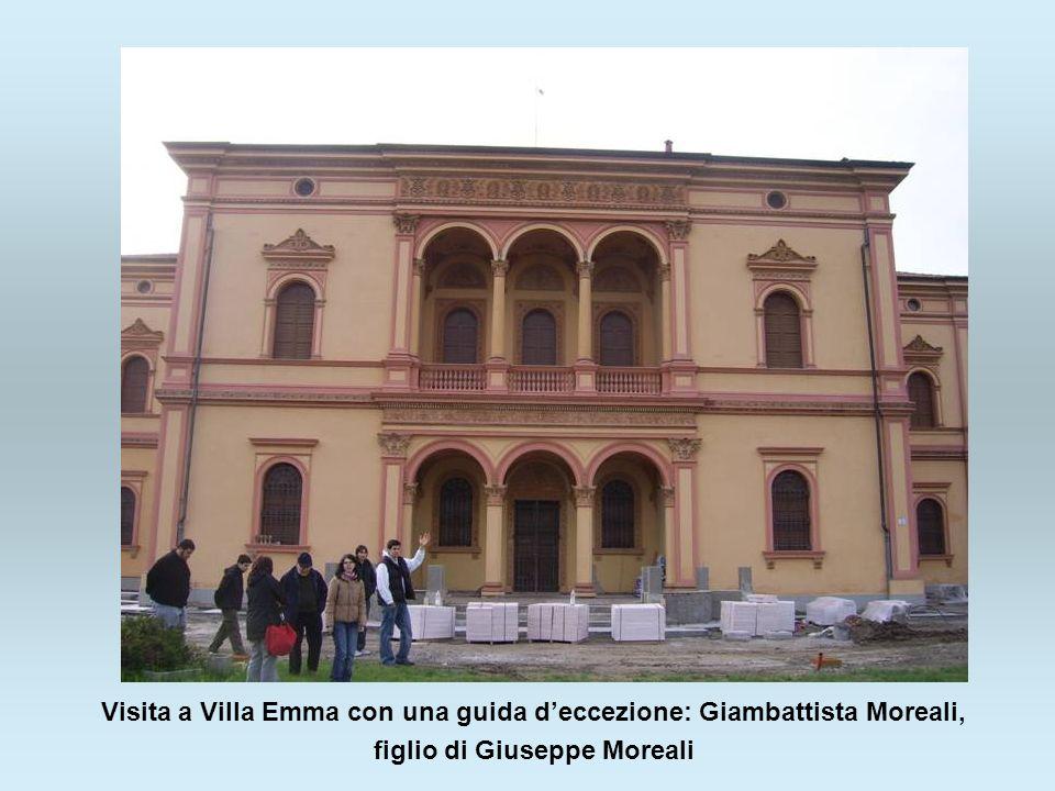 Visita a Villa Emma con una guida deccezione: Giambattista Moreali, figlio di Giuseppe Moreali