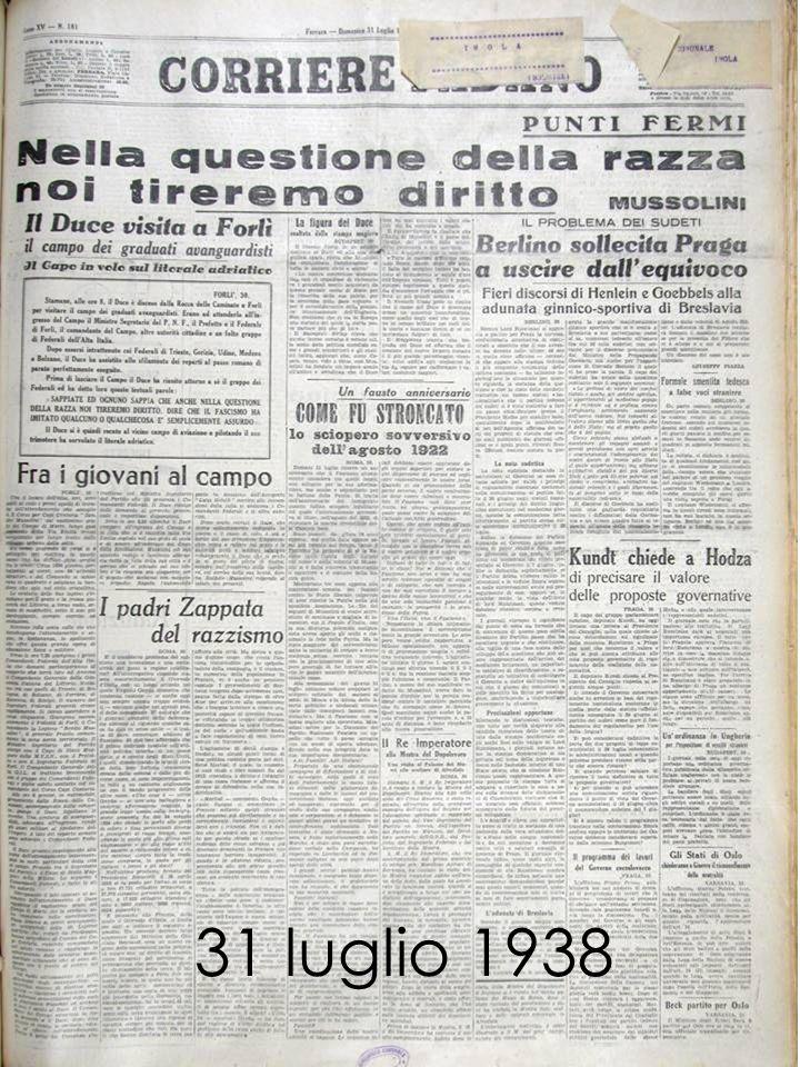31 luglio 1938