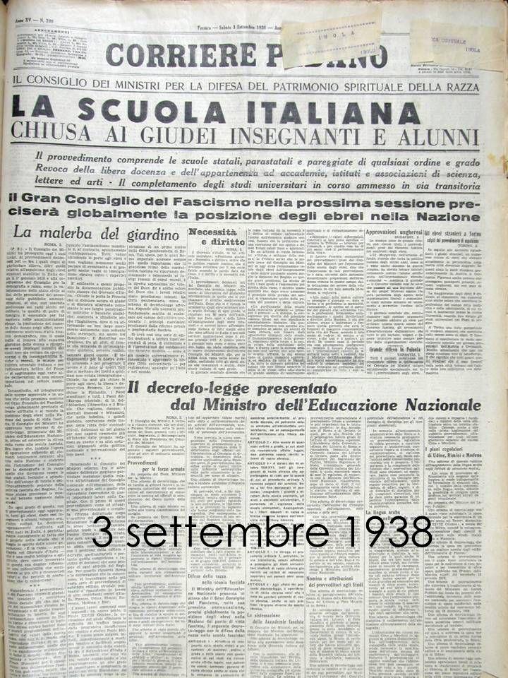 3 settembre 1938