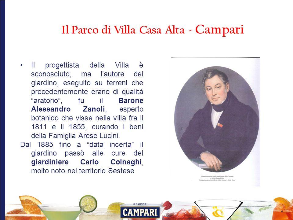 15 Il Parco di Villa Casa Alta - Campari