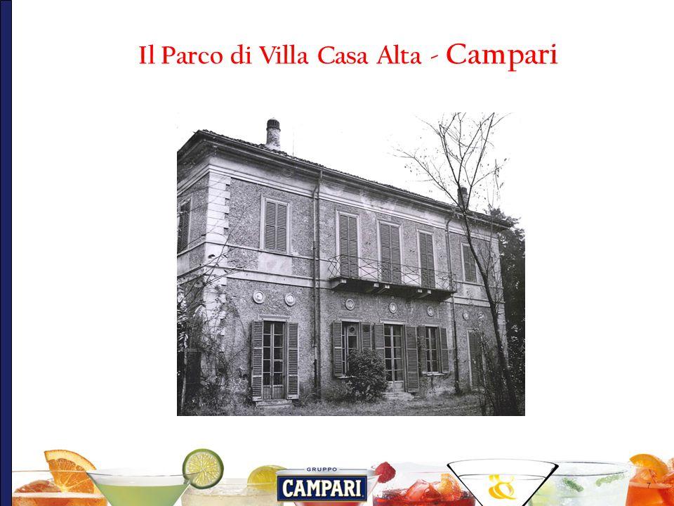 18 Considerazioni finali: Il parco di Villa Casa Alta, grazie alla trasformazione cui è stato oggetto nellambito della riconversione urbanistica del comparto Campari è rinato a nuova vita.
