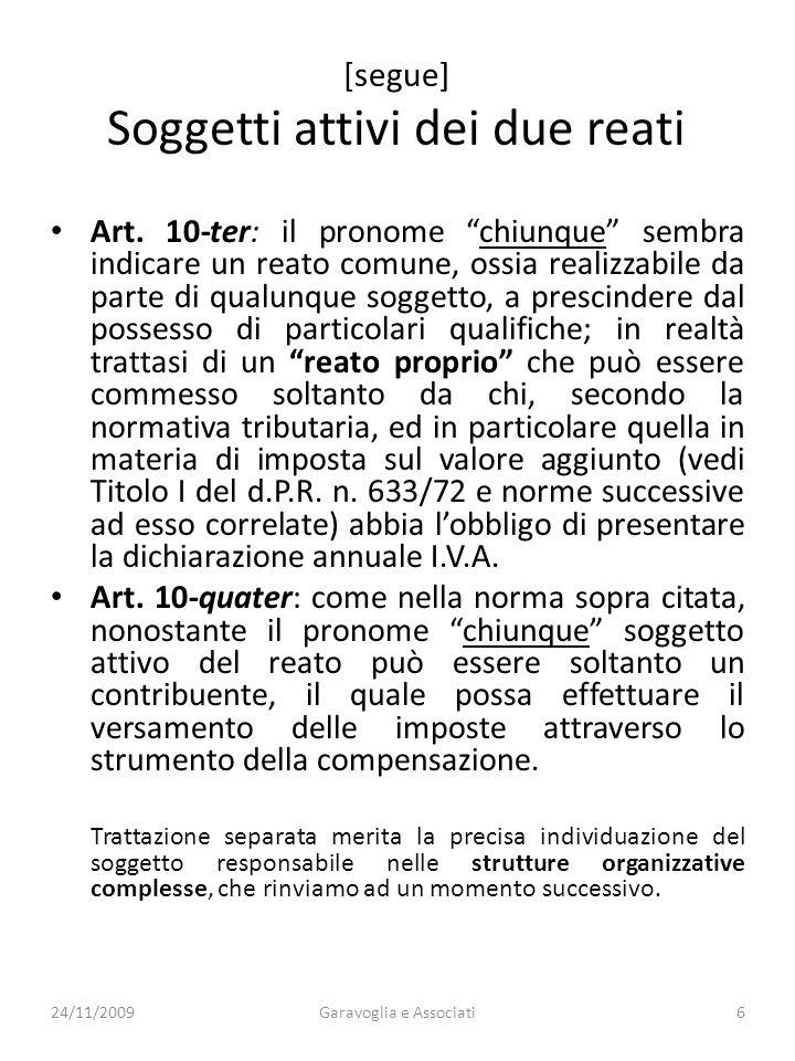 Art.10-ter: omesso versamento di Iva.