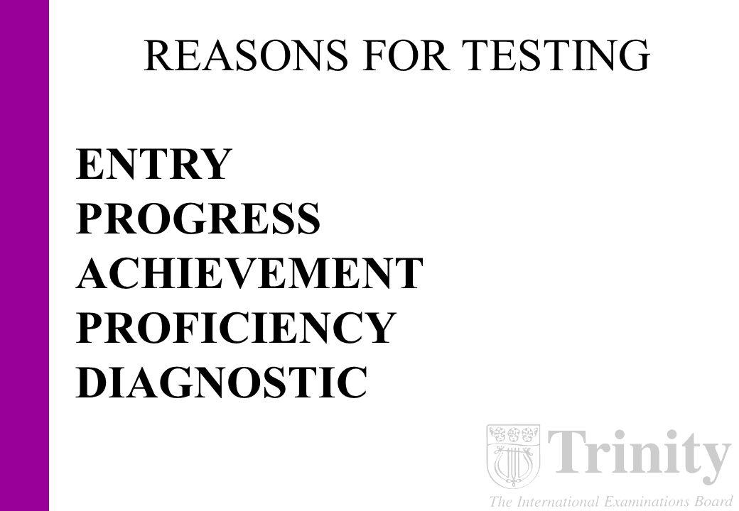 NEGATIVE WASHBACK allargare il GAP tra insegnamento e valutazione TEACH TO THE TEST valutare tramite tasks artificiali