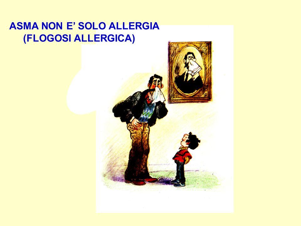 ASMA NON E SOLO ALLERGIA (FLOGOSI ALLERGICA)