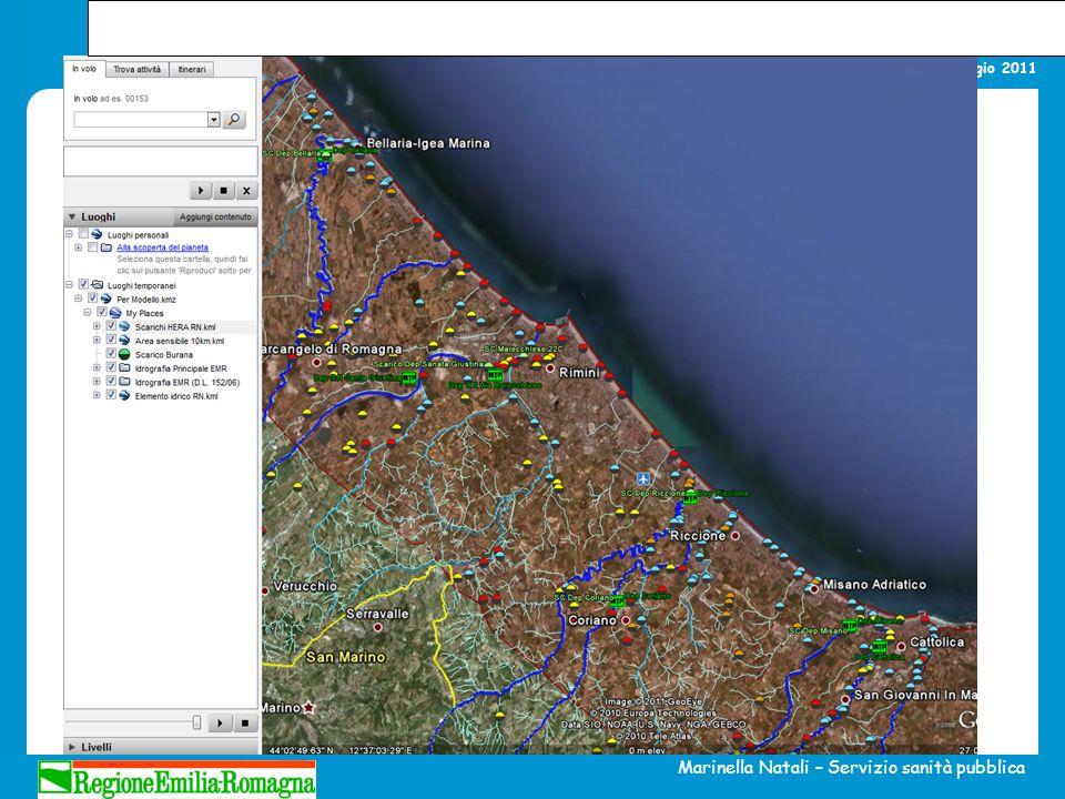 La gestione della qualità delle acque di balneazione Alberese, 19 maggio 2011 Marinella Natali – Servizio sanità pubblica