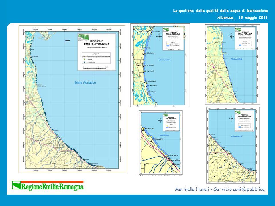 La gestione della qualità delle acque di balneazione Alberese, 19 maggio 2011 Il nuovo sito web Work in progress Marinella Natali – Servizio sanità pubblica