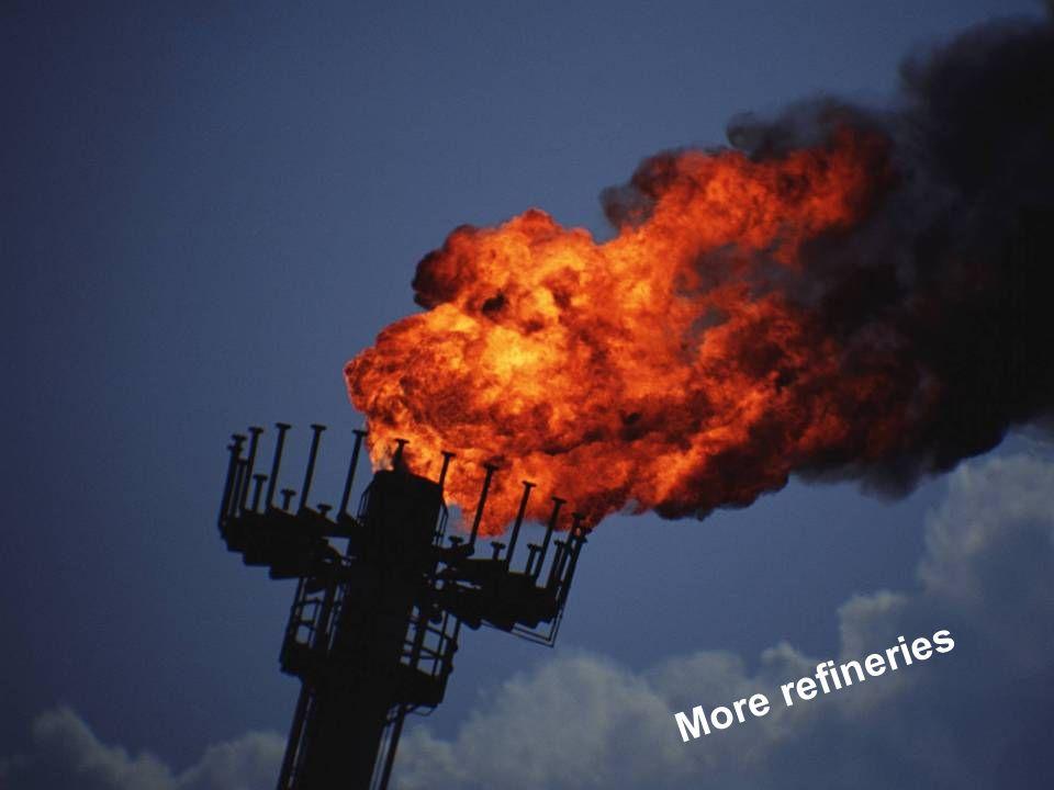 Partecipazione Pubblica www.transportlearning.net More refineries