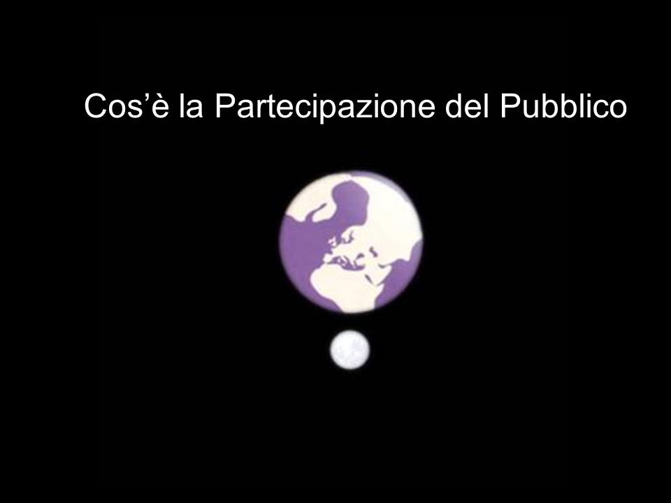 Partecipazione Pubblica www.transportlearning.net Più gas