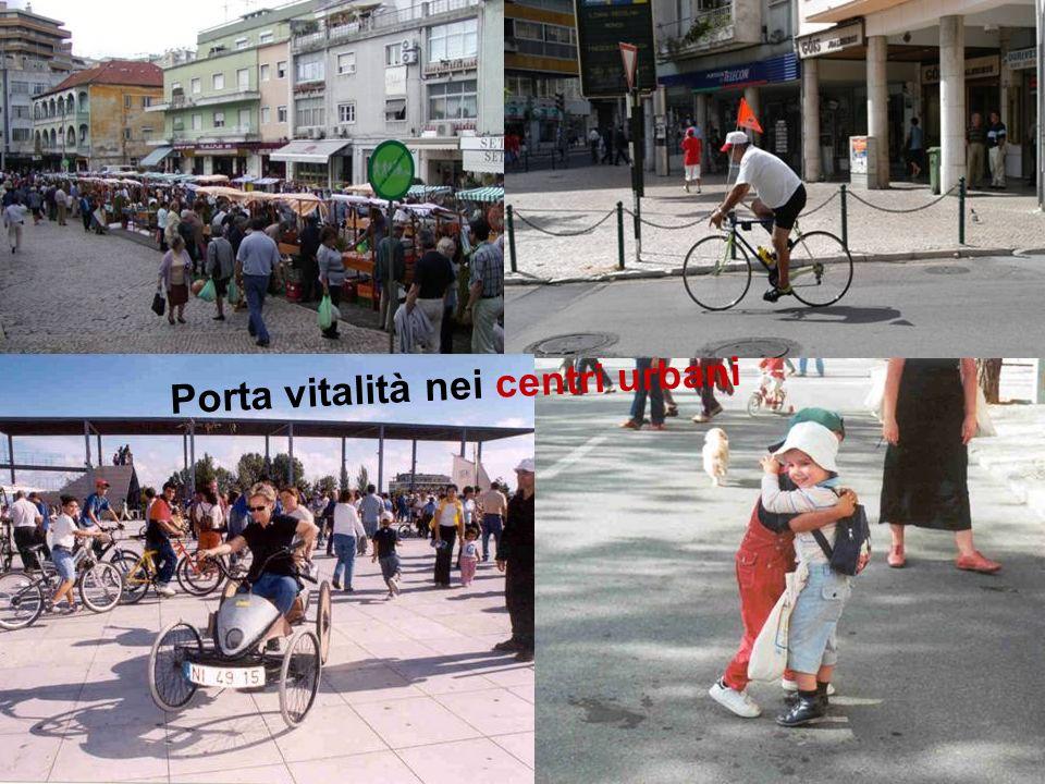 Partecipazione Pubblica www.transportlearning.net Porta vitalità nei centri urbani